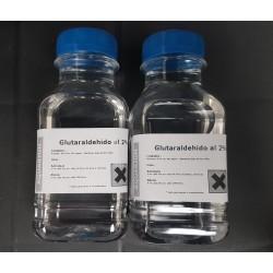 Glutaraldehido al 2% ( abono - antialgas ) 250 ml