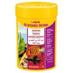 Artemia seca en Dados- FD Artemia Shrimps 100 ml