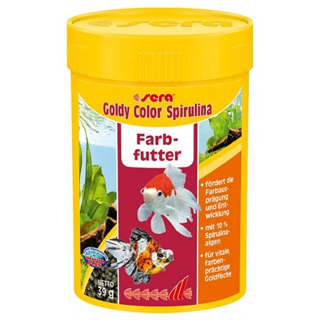 Sera Goldy Color Spirulina 1000