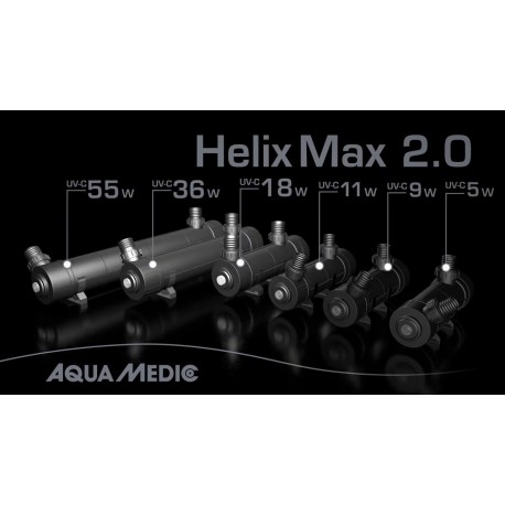 Germicida Helix - Max 36 w 2.0 Aquamedic Ultra Violeta