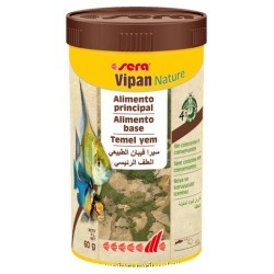 Sera Vipan NATURE escamas 250 ml
