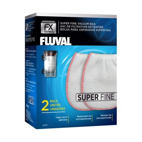 FX Gravel Vacuum Bag – Super Fine, 2-pack