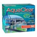 AQUACLEAR FILTRO MOCHILA 50 ( 200 litros )