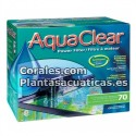 AQUACLEAR FILTRO MOCHILA 70 ( 250 litros )