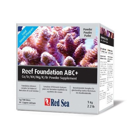 Reef Foundation Pack 3x250 ml Liquidos
