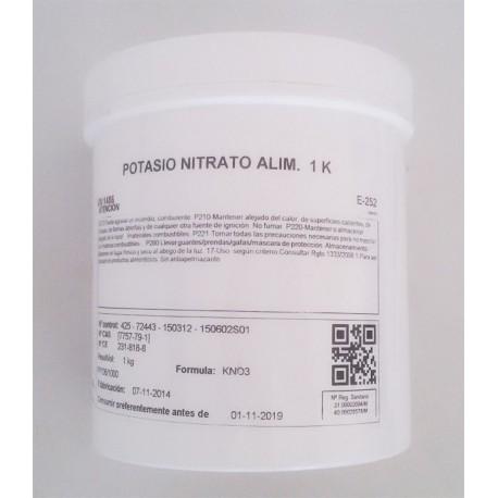 Nitrato Potasico 100 gramos