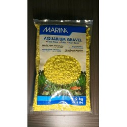 Grava Color amarillo 2 kg