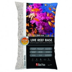 Arena Reef Base Blanca 10 kg  ( Red sea )