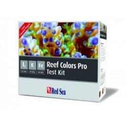 Red Sea : Test kit Multi Reef Colours ( Yodo Potasio Hierro )